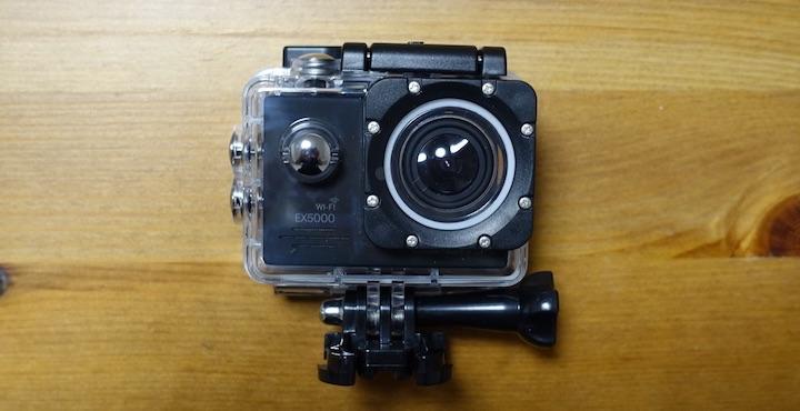 1万円以下で買える!安くて高性能なアクションカメラ「DBPOWER EX5000 WiFi」