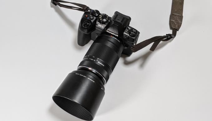 【レビュー】M.ZUIKO DIGITAL ED 75-300mm F4.8-6.7 II お手軽高倍率望遠レンズ 運動会などの撮影におすすめ